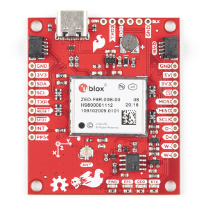 Breakout SparkFun calcul mort GPS-RTK ZED-F9R (Qwiic) [3]