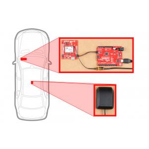 Breakout SparkFun calcul mort GPS-RTK ZED-F9R (Qwiic) [4]