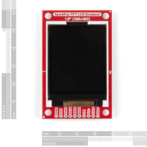 "Breakout TFT LCD 1.8"" SparkFun1"