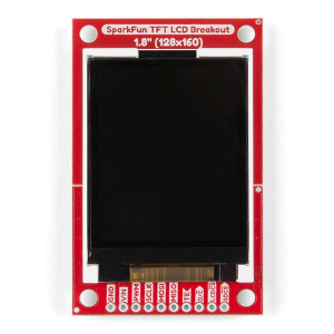 "Breakout TFT LCD 1.8"" SparkFun4"