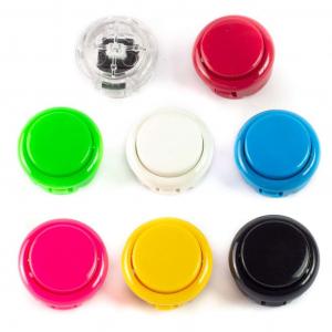 Buton Arcade rosu1