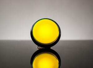 Buton Arcade cu LED galben - 60mm [0]
