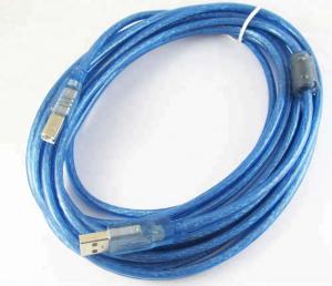 Cablu imprimanta USB 2.0 - albastru [2]