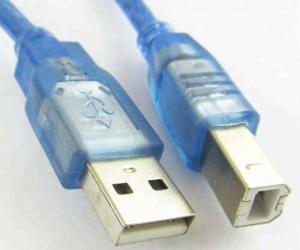 Cablu imprimanta USB 2.0 - albastru [3]