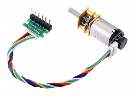 Cablu JST SH Pololu mama-mama cu 6 pini, 10 cm [0]