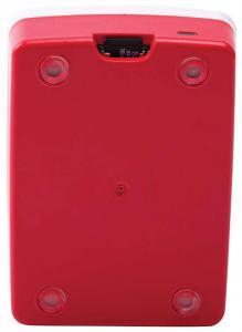 Carcasa oficiala Raspberry Pi 4 Model B - rosu/alb2