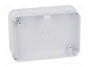 Carcasa universala din plastic Teko Soap 10007.5 - Gri deschis3