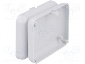 Carcasa universala din plastic Teko Soap 10007.5 - Gri deschis2