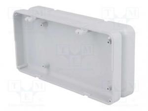 Carcasa universala din plastic Teko Soap 10008.5 - Gri deschis2