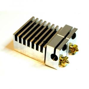 Kit extrudor Dual Chimera Plus cu Hot end si dubla extrudare, racire cu aer, 12V1