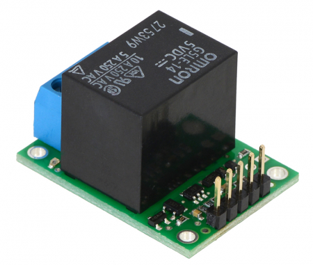 Comutator RC Pololu cu releu - asamblat2