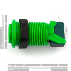 Buton concav verde1