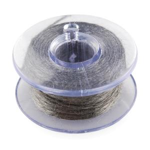 Bobina fir textil conductor - 9.14m (Stainless Steel) [0]