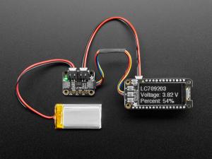 Monitor baterie LiPo/LiIon Adafruit LC709203F0