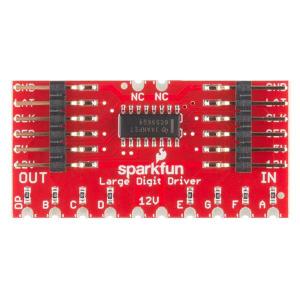 Controlor SparkFun Large Digit Driver [3]