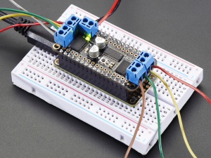 DC Motor + Stepper Shield pentru Feather2