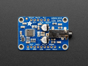 Decodor stereo Adafruit I2S - UDA1334A Breakout1