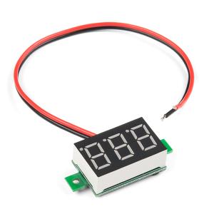 Afisaj voltmetru LED0