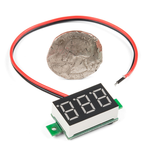 Afisaj voltmetru LED2
