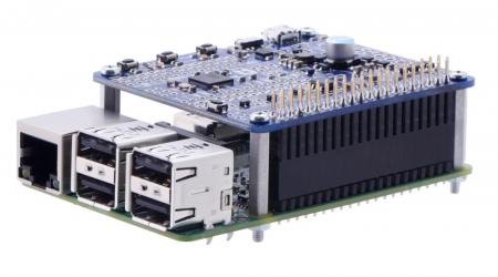 Distantiere din aluminiu pentru Raspberry Pi 18.6mm x 6mm M2.5 - 4 buc [1]