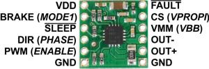 Driver motor DRV8801 [2]