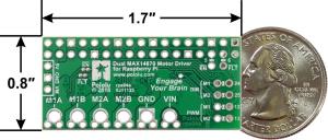 Dual MAX14870 Motor Driver pentru Raspberry Pi (Partial Kit)1