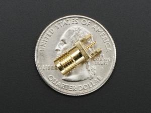 "Edge-Launch SMA Conector  1.6mm / 0.062"" Thick PCB1"