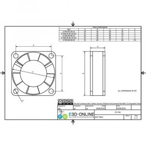 12v DC Fan - 30x30x10mm1