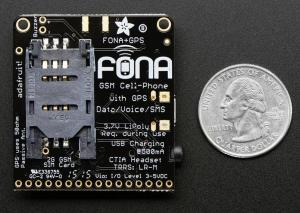Adafruit FONA 808 - Mini Cellular GSM + GPS Breakout2