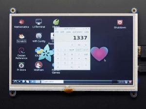 "Display HDMI 7"" 800x480 - Touchscreen6"