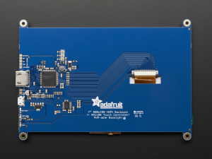 "Display HDMI 7"" 800x480 - Touchscreen7"