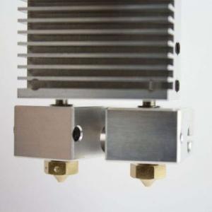 Kit extrudor Dual Chimera Plus cu Hot end si dubla extrudare, racire cu aer, 12V5