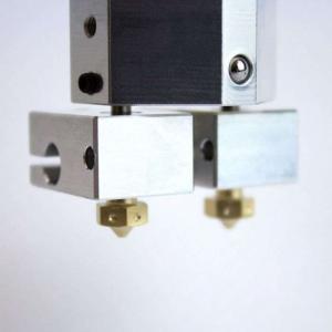 Kit extrudor Dual Chimera Plus cu Hot end si dubla extrudare, racire cu aer, 12V4