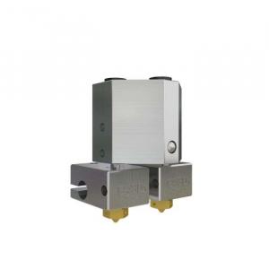 Kit extrudor Dual Chimera Plus cu Hot end si dubla extrudare, racire cu aer, 12V3