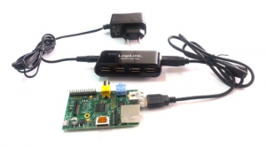 Powered USB HUB Raspberry PI (4 porturi)0