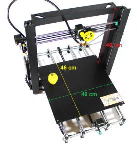 Imprimanta 3D Robofun 40-40-40, complet asamblata1