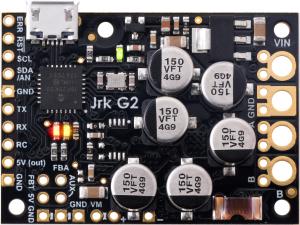 Controlor de motor USB Jrk G2 18v27 cu feedback1