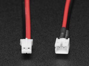 Cablu extensie sertizat JST 2 pini cu comutator ON/OFF - JST PH2 [1]