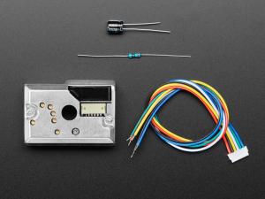 Kit modul senzor praf Sharp GP2Y1014AU0F cu cablu [2]