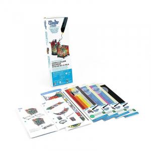 Kit proiecte cu filamente si sablon pentru 3Doodler Create0