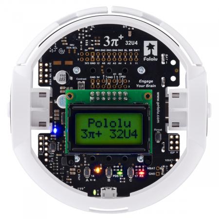 Kit robot Pololu 3pi+ 32U4 - Editia Standard (motoare 30:1 MP)7