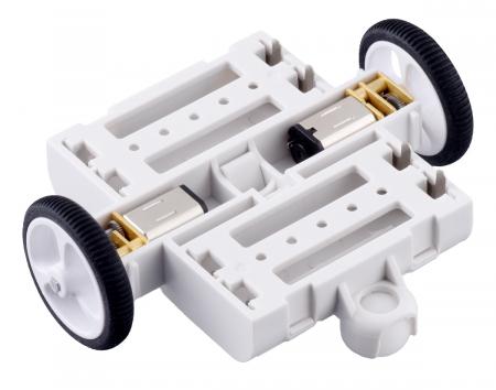 Kit sasiu Pololu 3pi+ (fara motoare sau electronice)6