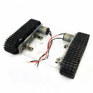 Kit sasiu robotic din acril cu motor inclus2
