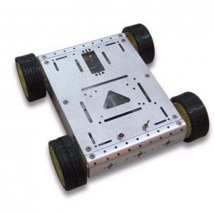 Kit sasiu robotic metalic pentru Arduino [0]