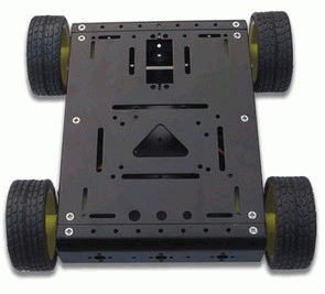 Kit sasiu robotic metalic pentru Arduino [1]