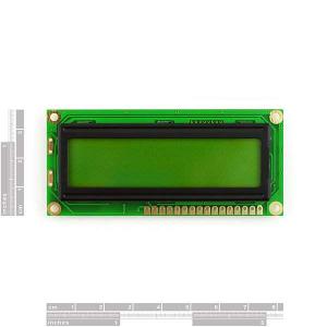LCD 16 x 2 Alb pe Albastru, 5V1