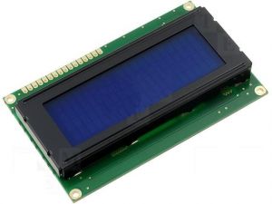 LCD 20 x 4 Albastru0