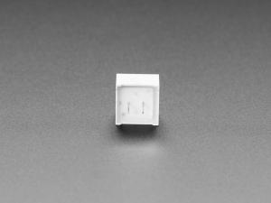 LED patrat, indicator cu lumina rosie, difuza [4]