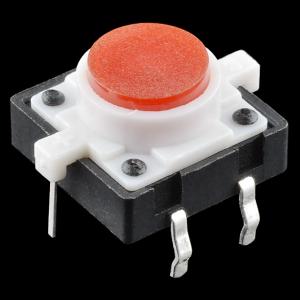 Buton tactil cu LED - Rosu0