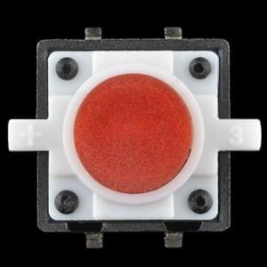 Buton tactil cu LED - Rosu [2]